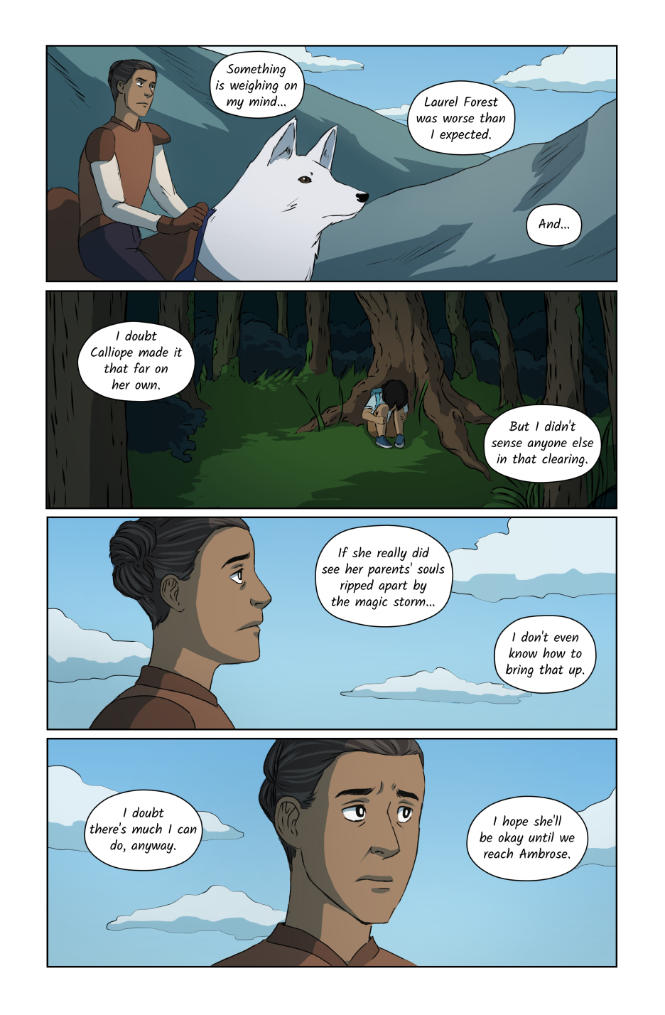 The Woods Page 8